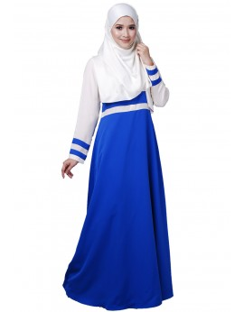 Tania Dress in Electric Blue