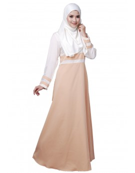 Tania Dress in Peachpuff