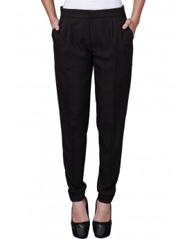 Nicole Pants in Woodsmoke Black