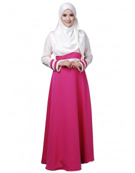 Tania Dress in Fuchsia