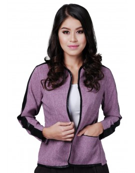 Lara Jacket in Viola Purple