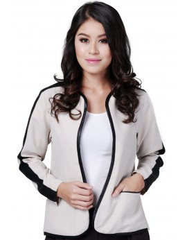 Lara Jacket in Cream Beige
